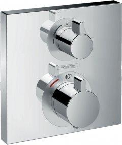 Верхняя часть смесителя с термостатом HANSGROHE Ecostat Square 15714000