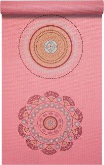 Дизайнерский коврик для йоги ProSource Satya Yoga Mat 183 х 61 см 5 мм Розовый (ps-1926-satya)