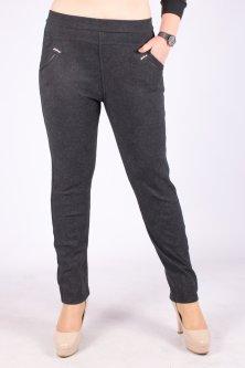 Штани жіночі теплі на короткому хутрі Алія 7-8-1. 6XL/7XL. Розмір 50-54