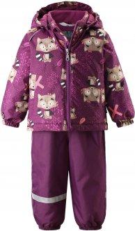 Зимний комплект (куртка + полукомбинезон) Lassie by Reima Oivi 713732.9-4844 80 см (6438429234463)