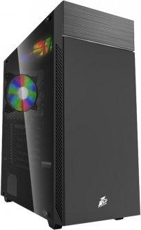Корпус 1STPLAYER P7-G1 RGB LED Black