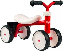 Беговел детский Smoby Toys металлический, четырехколесный красный (721400)