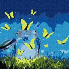Картина по номерам Rosa Start Magic Butterflies 25х25 см (4823098523581)