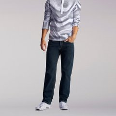 Чоловічі джинси Lee Regular Fit – Black Quartz W33 L32 (2008918)