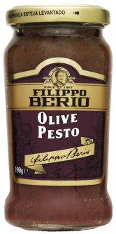 Соус Filippo Berio Песто из черных оливок 190 г (8002210131033)