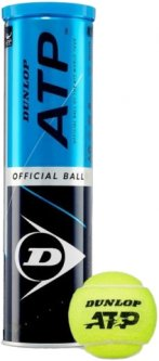 Мячи для большого тенниса Dunlop ATP Official 4 шт Зеленые (601314)