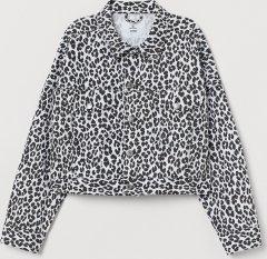 Джинсова куртка H&M 0707777-0 M Біла (2000001572849)