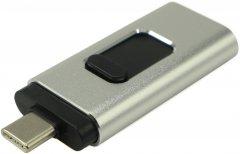 Beluck 64GB USB 3.0 3в1 USB Type-A + USB Type-C + Lightning Silver (BeluckFD64)