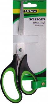 Упаковка ножниц офисных 4Office с эргономичными прорезиненными ручками 20.3 см 12 шт (14820071011650)
