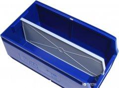 Перегородка разделительная по длине iPlast Logic Store 280 х 140 мм для лотка 12.412 Серая 5 шт (14.914.91-5)