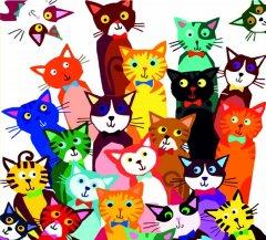 Набор для творчества Rosa Start Живопись по номерам 31 котенок 35 х 45 см (N00013268) (4823098514213)