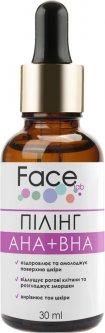 Пилинг для лица Face lab Peeling Complex AHA+BHA pH 3.3 с комплексом кислот 30 мл (4820243881138)