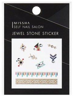 Стразы-наклейки для маникюра Missha Self Nail Salon Jewel Stone Sticker No.04/Gipsy 1 шт (8806185790437)