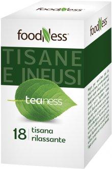 Расслабляющий травяной чай в пакетиках FoodNess Tisana Rilassante 20 шт (8031848003719)