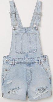 Комбінезон джинсовий H&M 4969236RP21 32 Блакитний (PS2030000064182)