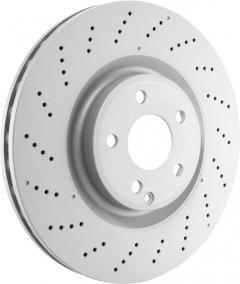 Тормозной диск передний Bosch Brake Disc Premium Chevrolet (0 986 479 R73)