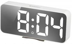 Настольные часы Bresser MyTime Echo FXL White (8010072GYEWHI)
