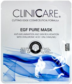 Маска ClinicCare EGF Pure anti-inflammation mask with 1.0% HA Очищающая 35 мл (635346370434)