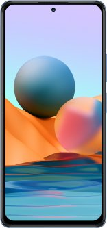 Мобильный телефон Xiaomi Redmi Note 10 Pro 6/64GB Glacier Blue (765958)
