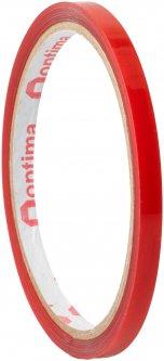 Клейкая двусторонняя лента Optima пеноакриловая (VHB) 6 мм x 2 м Красная (O45343)