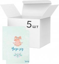 Упаковка блокнотов 4Profi Profiplan Seasons A6 в клетку 40 листов Spring 5 шт (903757)