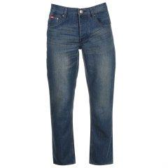 Джинси Lee Cooper Regular Jeans Mens 34WL Синій (64319192347)