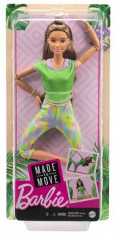 Кукла Barbie Двигайся как я Шатенка (GXF05)
