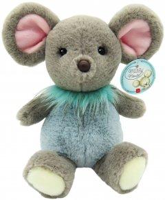 Мягкая игрушка Aurora Мышка мальчик Серо-голубой 25 см (190056A) (092943900509)