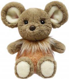 Мягкая игрушка Aurora Мышка девочка Бежево-оранжевая 25 см (190056B) (092943005617)