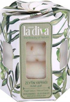 Натуральное мыло La Diva Оливковые листья 4х45 г (8699266390714)
