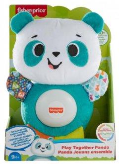 Мягкая интерактивная игрушка Fisher-Price Linkimals Веселая панда (GRG71)
