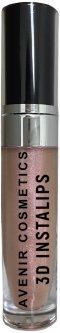 Блеск для губ Avenir Cosmetics 3D Instalips с эффектом увеличения объема №3 Nude Crystal 6.5 г (4820018031874)