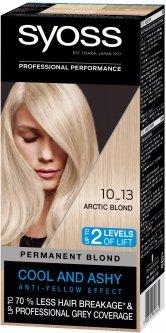 Стойкая краска для волос Syoss 10-13 Арктический блонд 115 мл (9000101628630)