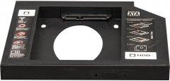 "Адаптер подключения Frime HDD/SSD 2.5"" в отсек привода ноутбука SATA/mSATA 12.7mm (FHDC127P)"