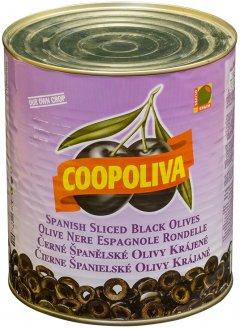 Маслины Coopoliva нарезка Черные 3 л (8410522001645)