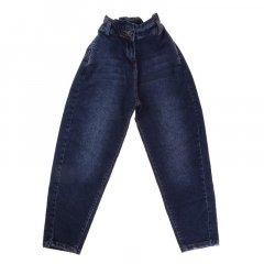 Штани джинсові для дівчинки A-YUGI 9246 152 см синій (476228)