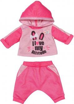 Набор одежды для куклы Baby Born Спортивный костюм для бега Розовый (830109-1)