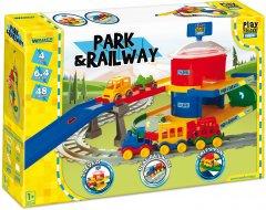 Железная дорога Wader Play Tracks вокзал 6.4 м (51520) (5900694515208)