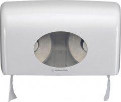 Диспенсер для туалетной бумаги KIMBERLY CLARK PROFESSIONAL Aquarius на 2 малых рулона (6992) белый