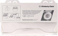 Индивидуальные бумажные покрытия на унитаз KIMBERLY CLARK PROFESSIONAL 125 шт. (6140) белый