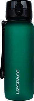 Бутылка для воды Uzspace Frosted 3053 800 мл Зеленая (6955482378793)