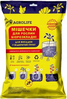 Мешочки для растений Agrolife 14 х 20 см 100 шт. в уп. (10333016)