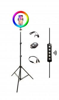 Набор блогера XoKo BS-600+ RGB LED 26 см (BS-600+)