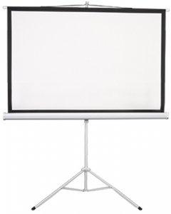 """Lumi мобильный напольный 100"""" (4:3) 200 x 150 (ESDC100) White Case"""
