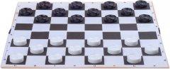 Доска для шашек-шахмат MED 64 клетки 35х35 см (40477) (2201000140477)