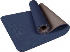 Коврик для фитнеса и йоги PowerPlay 4150 Premium TPE 183 х 61 х 0.6 см Синий (PP_4150_Blue)