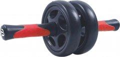 Колесо для пресса PowerPlay 4327 двойное Черно-красное (PP_4327_Black/Red)