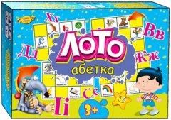 Настольная игра Майстер Лото Азбука (МКМ0305)