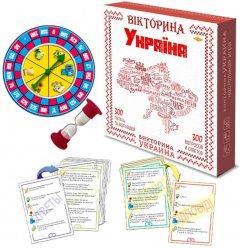 Настольная игра Майстер Викторина Украины (МКН0705)