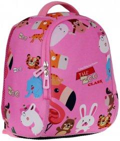 Ранец дошкольный Class 25х20х11 см 5 л Розовый (2038C/8591662203806) (8591662203806)